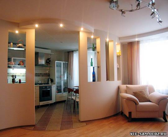 интерьер однокомнатной квартиры своими руками