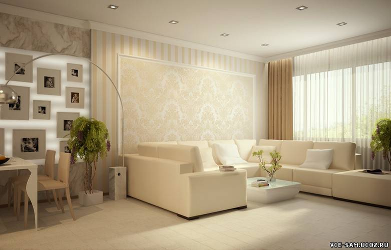 Дизайн 4 комнатной