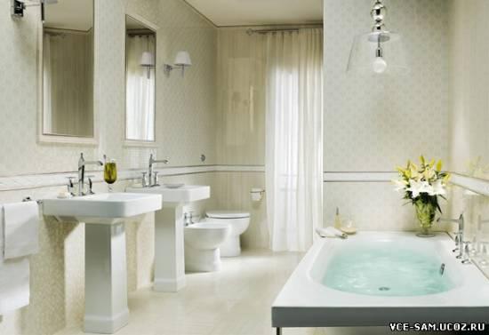 Фото дизайна ванной комнаты панелями пвх