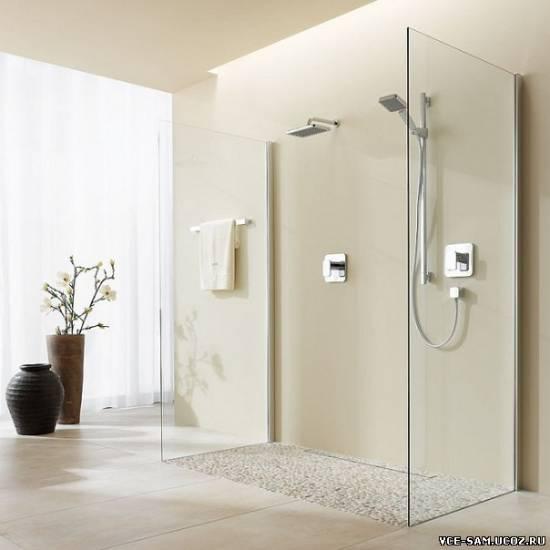 узкая ванная комната дизайн фото .