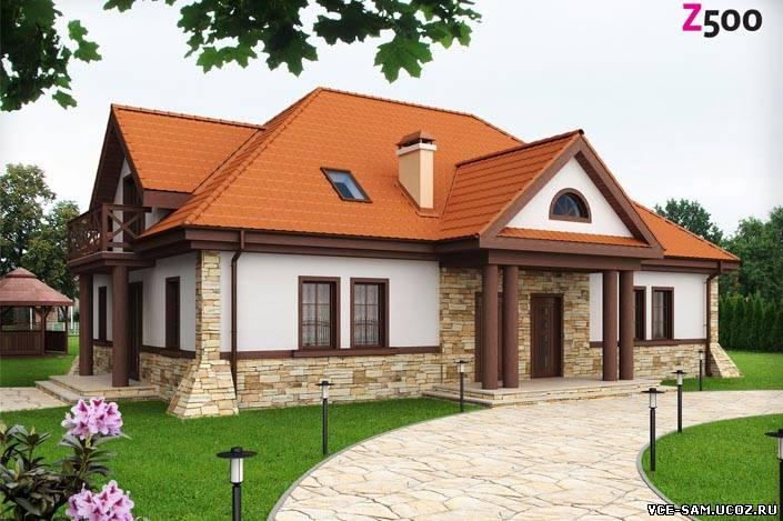 Проекты домов коттеджей строительство Как построить дом
