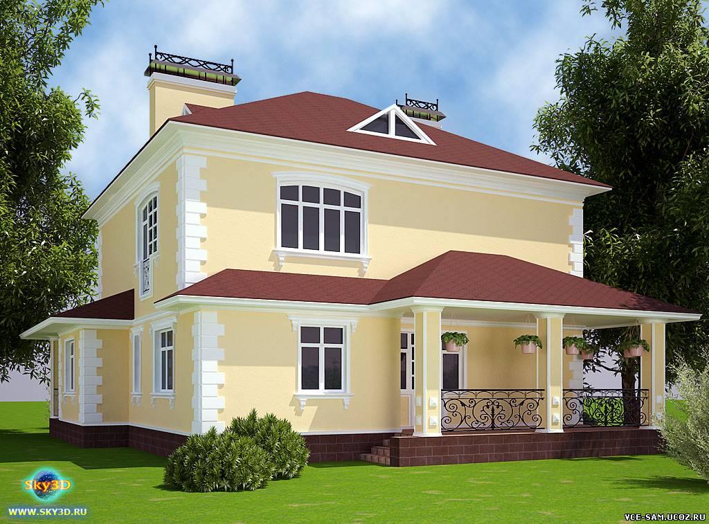 Фасады домов дизайн с фото
