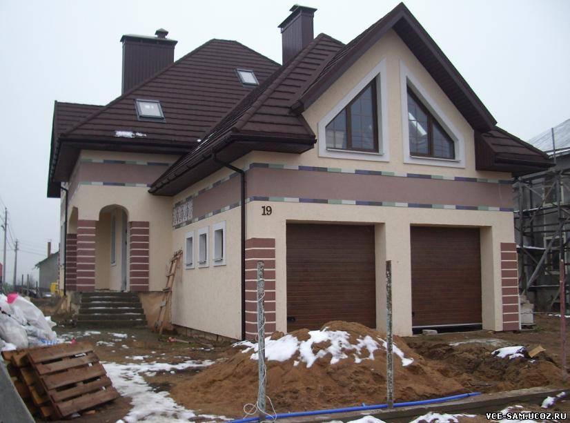 Крашенные дома фото